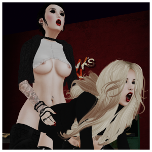 Business Meeting 06 - Dickgirls Art, Futanari, Blacklist, Second Life, Missdaxia